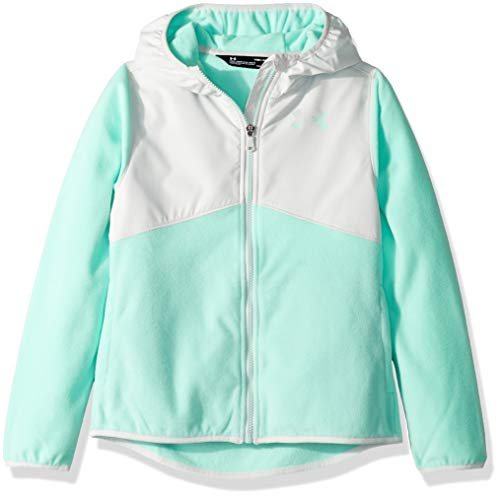 Under Armour Girls' Little ColdGear Canyon Rim Microfleece Hoody, Crystal 6X