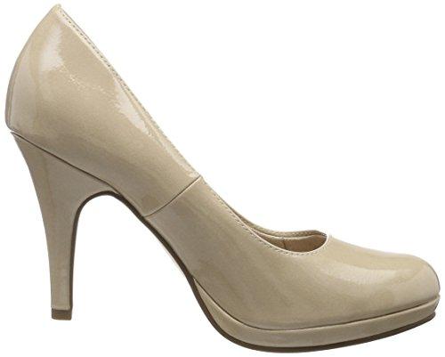 Patent 1 1 Bout 22417 Beige Escarpins Cream Femme 25 fermé 452 Tamaris qvxHd5q