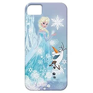 Elsa and Olaf - Icy Glow Case For Iphone 5/5s hjbrhga1544