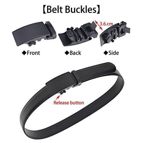 Durable Modelando QISHIYUHUA Hombres Cinturón de Cuero Correa Cinturones de Piel  Diseñado para caballero 3ff526c1bc11