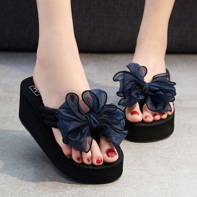 clip FLYRCX de de aire moda anti chanclas verano de resbaladizo libre pie al tacón alto e Señoras zapatos playa zapatillas de 8WqnwUB8r