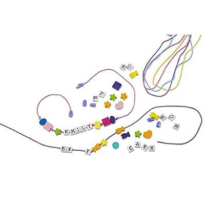 Melissa & Doug Wooden Stringing Beads: Melissa & Doug: Toys & Games
