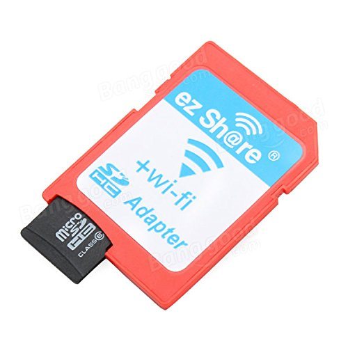 C & C Products Partager EZ ezshare Micro SD adaptador wifi ...