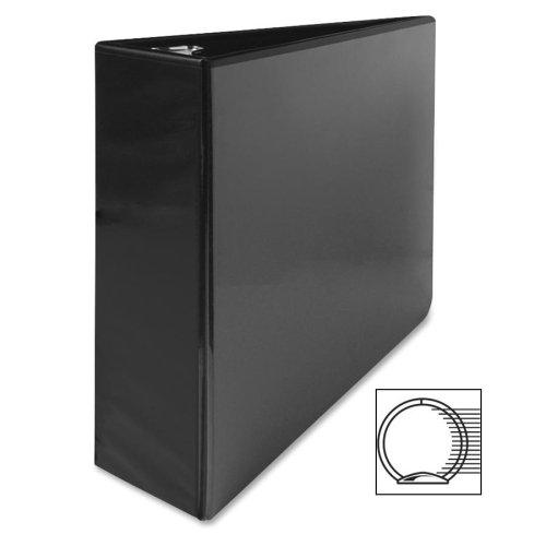 Business Source 3-Inch Standard Presentation Binder - Black (09986) ()