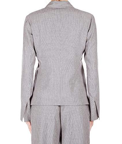 couture Semi Femme Blazer Lin Bleu Y9pr01var02 xT0dYrwfdq