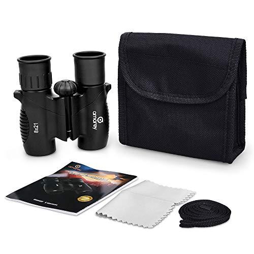 ShamBo SKids Binoculars - 8 x 21 Kids Binoculars for Bird Watching, Hiking, Hunting or Other Outdoor Activities, Shock, Easy to Focus