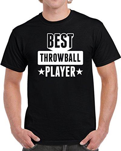 Throwball Player - Best Throwball Player Unisex T Shirt M Black