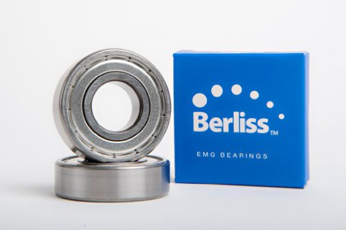 6203-ZZ EMQ-Berliss, Deep Grove Ball Bearing, Electric Motor Quality, ABEC 3, Z2V2, C3 fit from Berliss