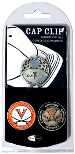 NCAA Virginia Cavaliers Cap Clip With 2 Golf Ball Markers Virginia Cavaliers Golf Ball