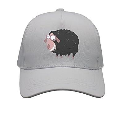 OKSDLK Black Pink Cartoon Sheep Snapback Hats Visor Hats