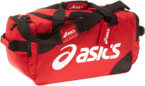 ASICS Small Duffle, Red by ASICS