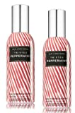 Bath and Body Works 2 Pack Concentrated Room Spray Twisted Peppermint 1.50 Oz.