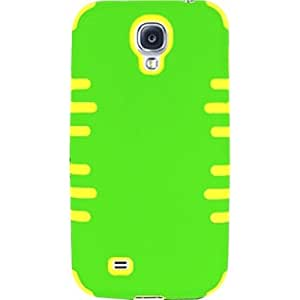 PC/SC Case Cover For Samsung Galaxy S4 i9500 - Neon Green, Yellow