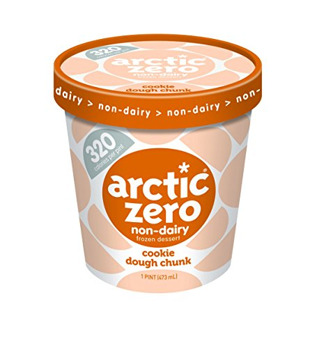 6 Pack, Arctic Zero Cookie Dough Chunk Pint (Best Arctic Zero Ice Cream Flavors)