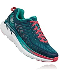 HOKA ONE ONE Womens Clifton 4 Wide Running Shoe