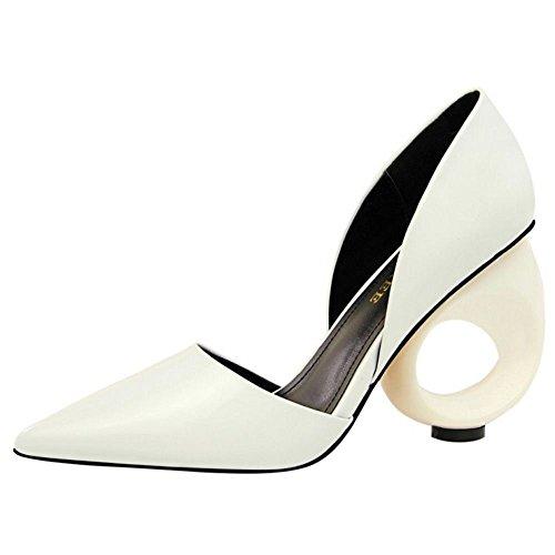 Zanpa 2 Donna Mode Novel white Heels Scarpe 4P4r8w6X