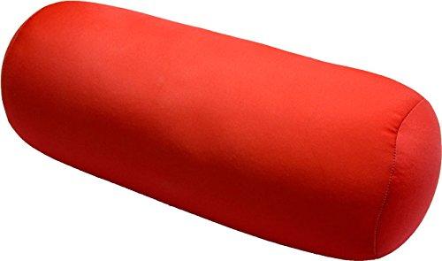 COVERBAGBCN COJIN ANTIESTRES Relax Relleno DE Bolitas - Rojo