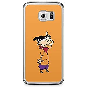 Loud Universe Ed Edd and Eddie Samsung S6 Edge Case Ed Samsung S6 Edge Cover with Transparent Edges