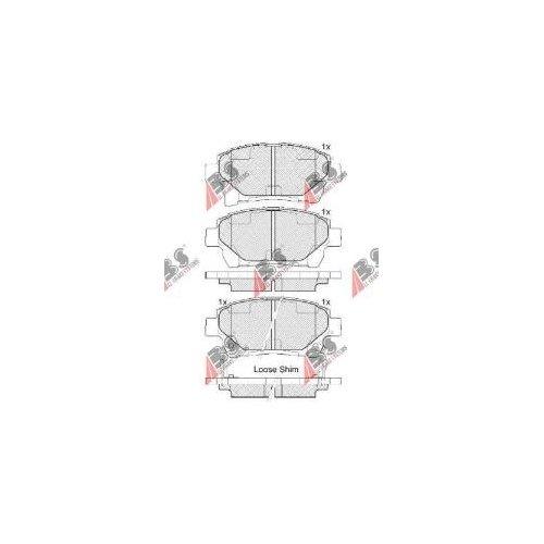 A.B.S. 37738 Pastiglie Freno ABS All Brake Systems bv