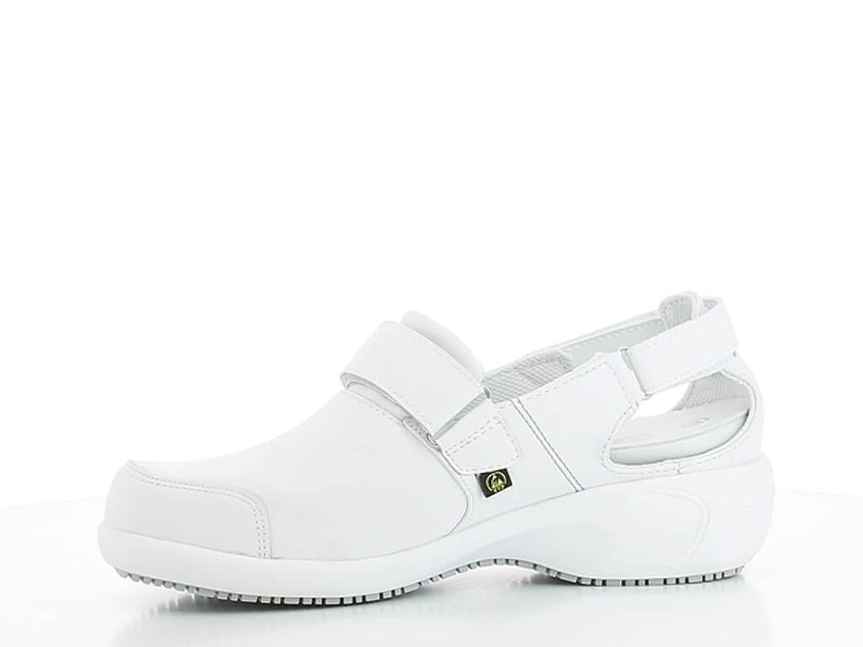 Chaussures blanche et rose de travail Salma ultraconfortable J3tD0q