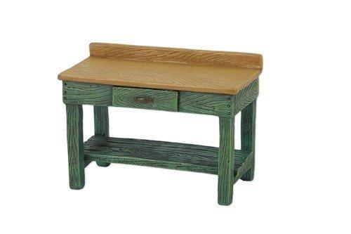 Studio M Merriment Mary Engelbreit Fairy Garden - Mini Green Potting Bench