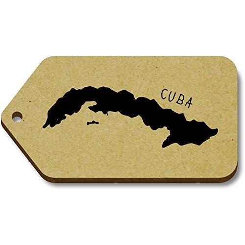 regalo 'Cuba' 34mm Tag tg00058633 10 bagaglio Azeeda 66mm X ZpvBcYFFqT