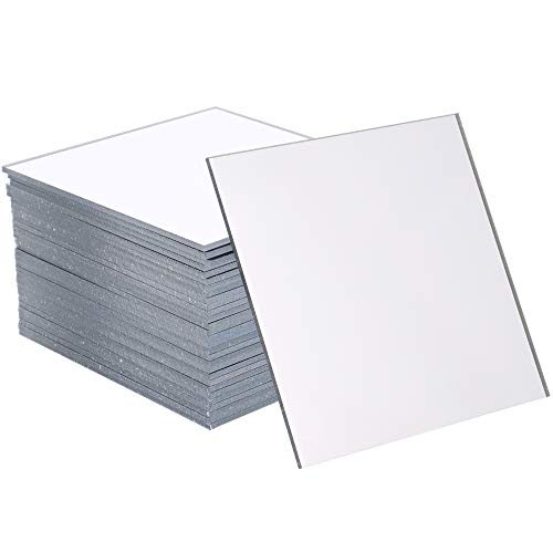 Juvale Mirror Tiles for Wall and Home Decoration (30 Pieces), 3 Inches, Square (Mirrors For Decoration)
