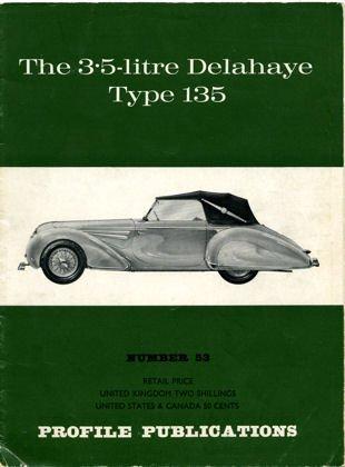 3.5 Litre Delahaye Type 135 Number 53 (Delahaye Type)
