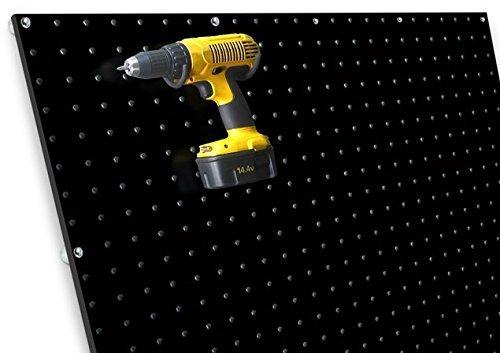diamondLife HPBPX2448.BLK PegBoard PX, 24
