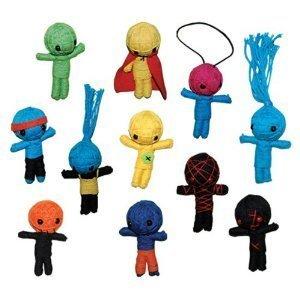 - String VooDoo Dolls - set of 11 small dolls