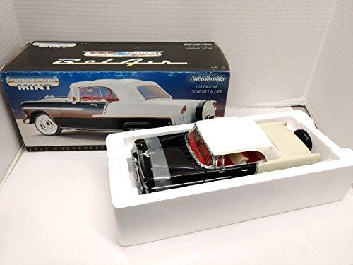 Ertl American Muscle 32074 1955 Chevrolet Bel-Air Convertible 1/18 scale Die Cast Replica