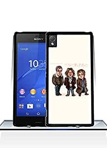 Personalized Design- Top Gear Extra Thin Sony Xperia Z3 Plus Funda Case Cover With Hard Plastic Material Design For Teens Girls