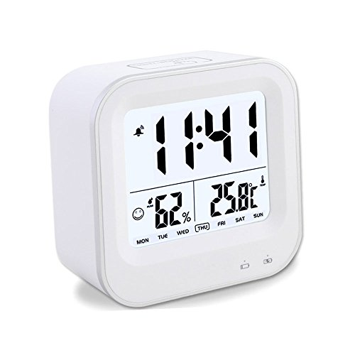 small digital clock with date battery. Black Bedroom Furniture Sets. Home Design Ideas