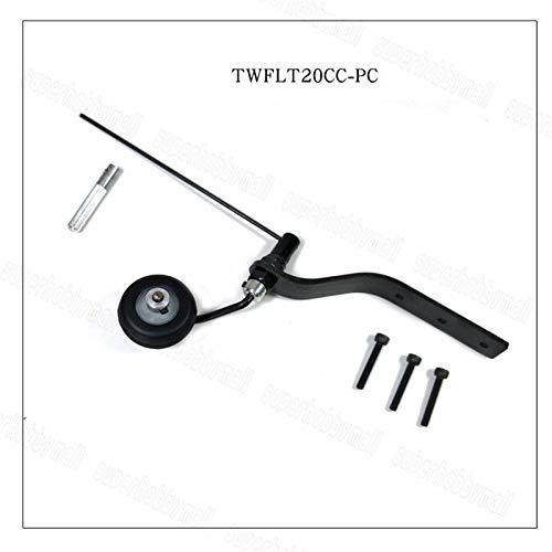 Generic Carbon Fiber Fiber Fiber Tail Wheel Set for 20cc Gas