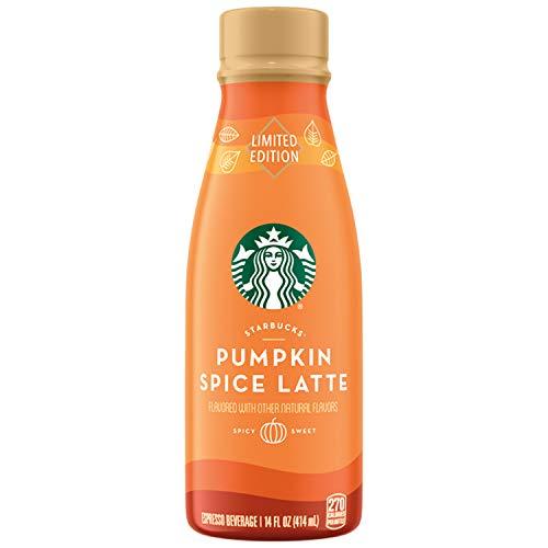 Starbucks, Iced Latte Pumpkin Spice, 14 fl oz. (8 Pack) (8 Pack)