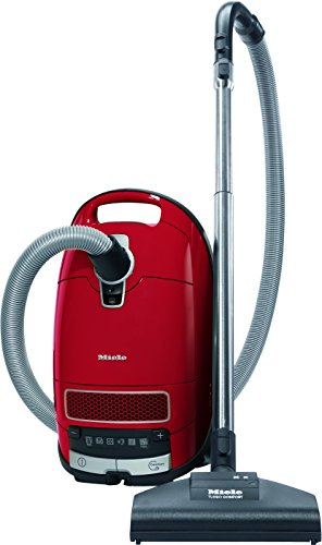 Miele C3 Cat and Dog Powerline Vacuum Cleaner, 4.5 Litre, 1200 W, Red