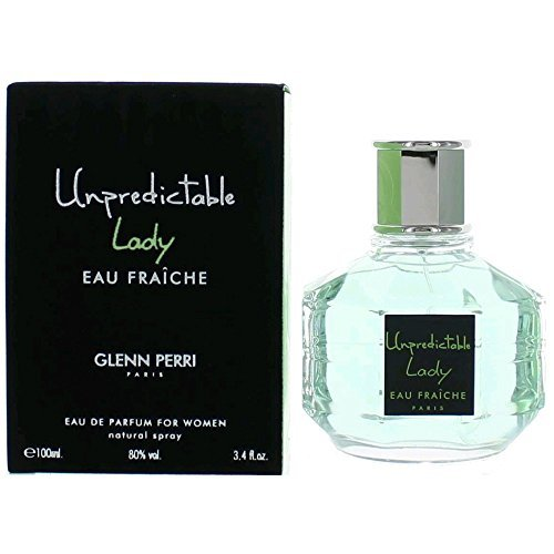 Glenn Perri Unpredictable Lady Eau Fraiche Eau De Parfum Spray for Women, 3.4 Ounce
