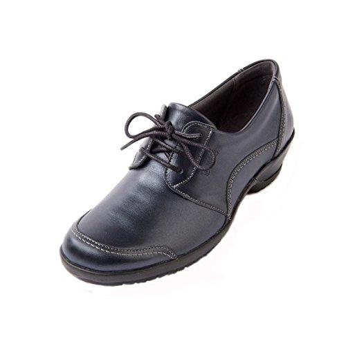 'debbie' Fastening Non Wide slip Lace E Lightweight Suave Fit Navy ee Women's Sloe Shoe 8AqEFExS
