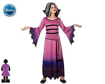 Atosa - Disfraz de vampiresa para niña, talla 5-6 años ...