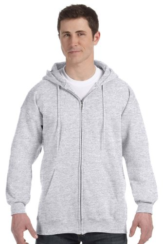 Hooded Cotton Pullover Ultimate (Hanes Mens Ultimate Cotton® Heavyweight Full Zip Hoodie)