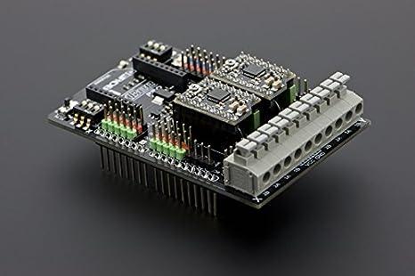 DFRobot Dual Bipolar Stepper Motor Shield for Arduino (A4988): Amazon.es: Electrónica