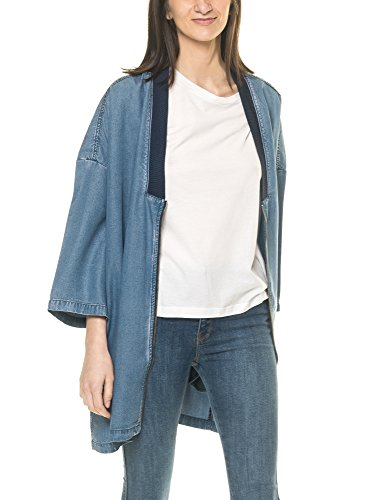 Dr Denim Jeansmakers Women's Rheba Women's Blue Denim Jacket Blue