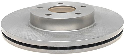 ACDelco 18A2571A Advantage Non-Coated Front Disc Brake Rotor