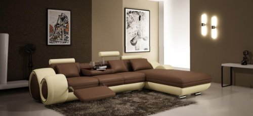 Leather Sectionals - L Shaped Couches