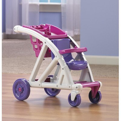 American Plastic Toys Shop With Me Stroller - 2