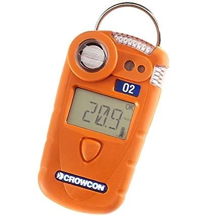 crowcon cc-o-19 Detector monogas para O2 Oxígeno, Naranja