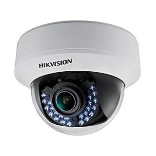 Hikvision DS-2CE56D5T-AVFIR Indoor IR Dome Camera, HD1080P, 2.8-12 mm Lens, Day/Night, True WDR, Smart IR, UTC Menu, IP66 Standard, 40M to IR, 24VAC/12VDC