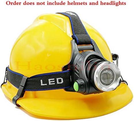 Helmet Clips Headlamp Hard Hat Lightweight 10 Pcs Set Plastic Hook Head Light