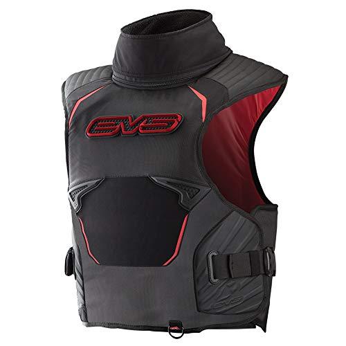 EVS Sports - Chaleco de nieve para hombre (SV2 Pro Trail), color negro y rojo