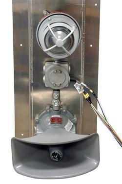 Explosion Proof Signal Light w/ Audible Alarm - Class 1 Div 1 Class 2 Div 1 - Multiple Colors(-240V